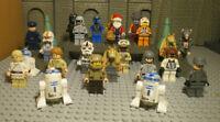 ( J9 / 1 ) LEGO 4 FIGUREN AUS DEM STAR WARS UNIVERSUM IM GUTEN ZUSTAND    kg
