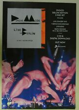 "Depeche Mode ""Live in Berlin"" Full Page promo Print Ad magazine clipping 2014"