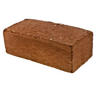 Premium Coco Coir Brick - 11 Pound Coconut Fiber Block