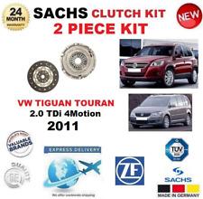 Para VW Tiguan Touran 2.0Tdi 4Motion 2011 Sachs 2 Kit Embrague Pieza Calidad OE