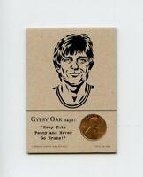 PETE MARAVICH Jazz 1977 Penny Insert NEVER GO BROKE Trade Card RARE