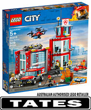 LEGO 60215 Fire Station new version 2019 CITY from Tates Toyworld