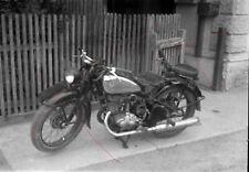 NEGATIV - Österreich 50iger Jahre Oldtimer Motorrad
