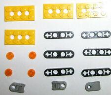 LEGO set 7905 1x4 lever 32449 3709 6536 technic 2x4 plate 4set 8457 8299 8464