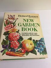 1968  Better Homes and Gardens ~ New Garden Book (Guide for plants, trees soil)