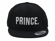 Prince Junior Kids Snapback Pair Fashion Embroidered Snapback Caps Hip-Hop Hats