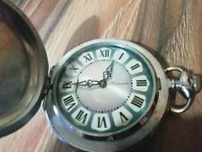 #2 POCKET WATCH MOLNIJA USSR Stigma Brand