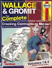 WALLACE & GROMIT COMPLETE CRACKING CONTRAPTIONS MANUAL vol 1 & 2 (2013) rocket