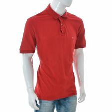 Tommy Hilfiger Premium Pique Regular Fit Mens polo t-shirt Short Sleeve Red