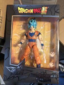 Ban Dai - Dragonball Z - Dragon Stars - Super Saiyan Blue Goku - Mint