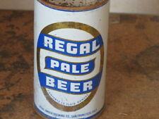 REGAL.  PALE. BEER. COLORFUL.   SOLID. FLAT TOP