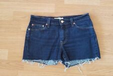 Womens Levis Shorts High Waisted Denim Grade A Size 10  (30 inch)
