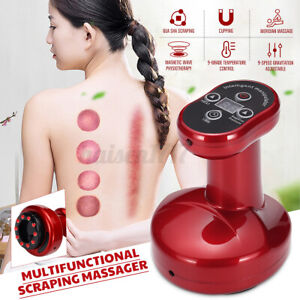 Electric Cupping Massage 9-Grade Suction Vacuum Scraping  Body Therapy Machine