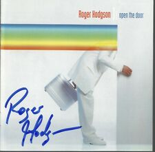 Open the Door * by Roger Hodgson (CD, Nov-2000, Red Spear) Original Autographed
