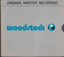 "MFSL-mfcd 4-816 various artists ""woodstock"" (MFSL-cd-4-box/usa/factory sealed)"