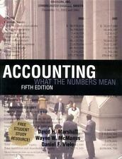 Accounting: What the Numbers Mean w/ Student Study Resource: Study Outline/Ready