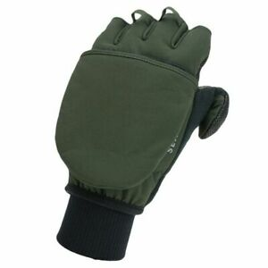 Sealskinz Handschuhe Windproof Cold Weather Convertible oliv