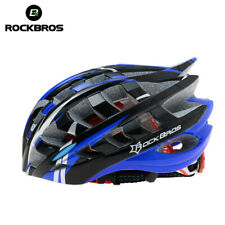 ROCKBROS MTB Bicycle EPS Helmet Safety Cycling Helmet Bike Head Protector Blue
