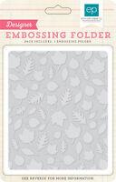 Embossing Folder Falling Leaves TSF93035 Story of Fall Autumn Halloween