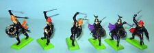 BRITAINS STORM KNIGHTS DEETAIL 6 FIGURES #7441  MADE IN BRITAIN1971
