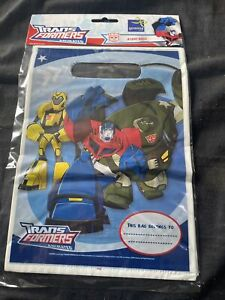 Transformers Party Bags Pack Of 8
