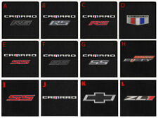 NEW! Carpet Trunk Mat 2016-2020 Camaro Embroidered Logo Your Choice Convertible