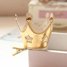 Fashion Baby Kids Girls Princess Crown Hollow Stars Hairpin Hair Clip Headband