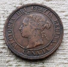 Canada 1888 Queen Victoria Large Cent