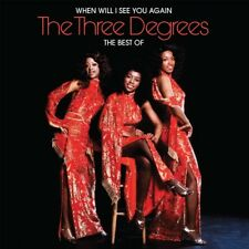 The Three Degrees WHEN WILL I SEE YOU AGAIN: BEST OF 31 Essential Songs NEW 2 CD