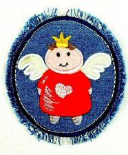 Jeans Applikation zum Aufbügeln Bügelbild 1-675  Engel