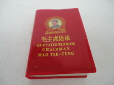 Quotations From Chairman Mao Tse Tung Little Red Book English & Chinese Version