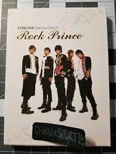 F.T Island - 2nd Live Concert Rock Prince DVD KPOP FT Minhwan Hongki Wonbin