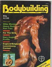 BODYBUILDING MONTHLY muscle magazine/Mohammad Makkawy 6-83 G.B.