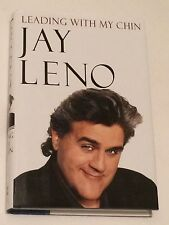 JAY LENO 'Yo Rick!' SIGNED Leading With My Chin 1996 BOOK 1st The Tonight Show!!