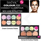 Technic Colour Fix Cream Corrector Contour Highlighter Concealer Palettes