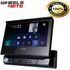 "New Pioneer AVH-A7100BT 7"" Motorised Screen CD DVD Bluetooth Stereo USB Flip-Out"