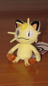 MEOWTH Pokemon Center Poke Plush Sitting Cuties cat kitten kitty doll NEW