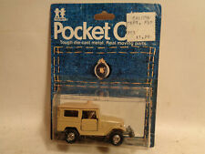 Vintage Tomy Pocket Cars #226-2-1 Off Road Cruiser Mint In Sealed Package