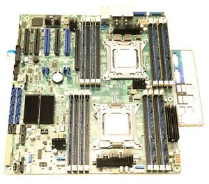 Intel S2600CP E99552-510 Dual CPU MOTHERBOARD + Xeon E5 2609 LGA2011 + 32GB DDR3