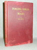 Vintage Stage Magic Tricks Book How-to-be-a Magician John Booth WWII Era 1944