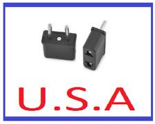 US to Euro Power Adapter/Convertor/Wall Plug/Travel/European/USA/Europe/B-16