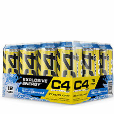Cellucor C4 On The Go Preworkout Explosive Energy  - Sparkling Frozen Bombsicle