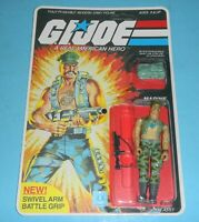 *RECARDED* 1983 GI Joe Gung Ho v1 USMC Figure Complete *CUSTOM File Card Back*