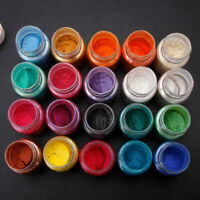 20 colors Resin Epoxy Dye Pigment Powder Mica Mineral Powder for jewelry Craft
