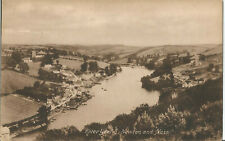 NEWTON; RIVERY YEALM AND BOATS;  VINTAGE POSTCARD unused *A2