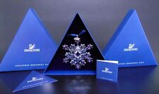 NEW 2004 Swarovski Crystal Star SNOWFLAKE CHRISTMAS ORNAMENT Rockefeller Center