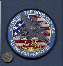 LOCKHEED MARTIN F-35 LIGHTNING 2 US NAVY USAF USMC VFA FS Squadron Patch