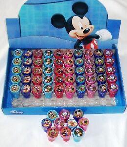20 pcs Disney Mickey Minnie Groofy Self Inking Stamper Pencil Topper School Gift