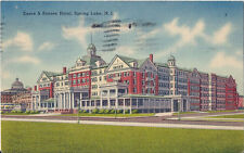 Postcard New Jersey Essex & Sussex Hotel Spring Lake Monmouth County 1939