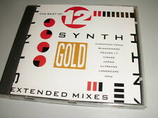 THE BEST OF 12'' SYNTH CD MIT VISAGE JAPAN ULTRAVOX OMD LANDSCAPE HEAVEN 17 ...